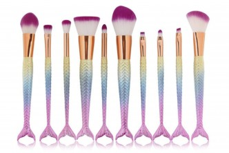 Product from UK*[10IIN1 Mermaid Brush Set @ 63% Savings!] B$22 instead of B$60 for a set of 10IIN1 Mermaid Brush Set. Redemption at SD HQ, Gadong.