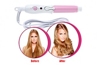 [Mini Hair Curler @ 80% Savings!] B$10 instead of B$49 for a unit of Mini Electric Hair Curling Iron. Redemption at SD HQ, Gadong