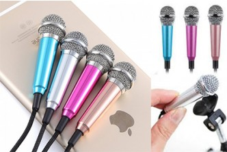 [SOKANO Mini Recording Microphone @ 64% Savings!] B$7.90 instead of B$22 for a unit of SOKANO Mini Recording Microphone for Smartphone, PC and Computer (With Stand and Adapter Cable). Redemption at SD HQ, Anggerek Desa