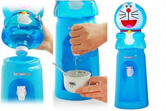 *Design subject to availability* [Mini Water Dispenser @ 64% Savings!] B$13.9 instead of B$39 for a unit of Mini Cartoon Water Dispenser. (Choose 1 from 3 designs) Redemption at SD HQ, Anggerek Desa