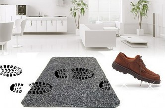 [Magic Clean Step Mat @ 59% Savings!] B$13 instead of B$32 for a unit of Magic Clean Step Mat. Redemption at SD HQ, Gadong.
