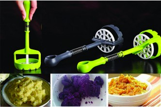 [Multifunction Food Masher@ 62% Savings!] B$7.90 instead of B$21 for a unit of Multifunction Fruit Potato Masher.Redemption at SD HQ, Anggerek Desa