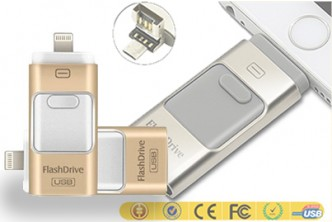 [USB i-Flash Drive @ 65% Savings!] B$49 instead of B$139 for a unit of USB i-Flash Drive Memory Stick Adapter For iPhone/Android. Redemption at SD HQ, Anggerek Desa
