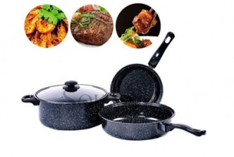 [3IN1 Non-Stick Cookware @ 52% Savings!] B$33 instead of B$69 for a unit of 3IN1 Non-Stick Cookware. Redemption at SD HQ, Gadong