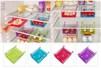 *Creates ample space![4IN1 set of Colourful Multipurpose Freezer/Table Organizer @ 62% Saving!] B$15 instead $39 of a set go multipurpose organizer. Redemption at SD HQ, Gadong