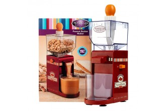 [Peanut Butter Maker @ 65% Savings!] B$45 instead of B$130 for a unit of Nostalgia Electric Peanut Butter Maker. Redemption at SD HQ,Gadong