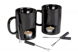 Product from U.S*[Couple Fondue Mugs @ 30% Savings!] B$35 instead of B$50 for a set of couple Fondue Mugs with Votive Candles. Redemption at SD HQ, Gadong.