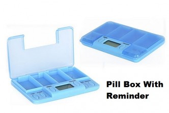 [Pill Box w Timer @ 82% Savings!] B$7.9 instead of B$45 for a unit of Pill Box with reminder timer Redemption at SD HQ, Anggerek Desa