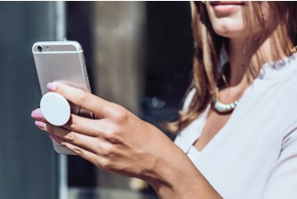 Product from U.S*[Easy Grip PopSocket @ 34% Savings!] B$19.9 instead of B$30 for a unit of Collapsible Grip & Stand for Phones and Tablets. Redemption at SD HQ, Gadong.