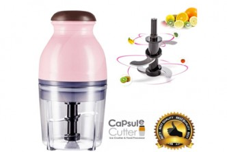 [Portable Blender @ 55% Savings!] B$29 instead of B$65 for a unit of Mini Electric Multipurpose Hand Blender Food Processor and Mixer. Redemption at SD HQ, Gadong.