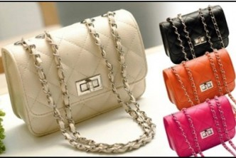 Beige and Orange only* [Quilted Bag @ 84% Savings!] B$8 instead of B$49 for a unit of Quilted Handbag. Redemption at SD HQ, Gadong