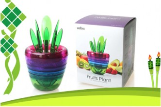 [5IN1 Fruits Tool Set @ 81% Savings!] B$11 instead of B$59 for a unit of Fruits Plant Multi Kitchen Tool Set. Redemption at SD HQ, Anggerek Desa