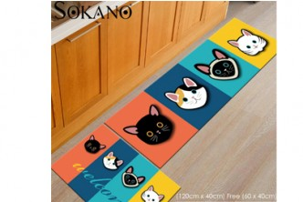Buy1Free1[SOKANO Antislip Rug Carpet  @ 34% Savings!] B$25 instead of B$38 for a set Antislip Rug Carpet  for Hallway, Kitchen and Bathroom. Redemption at SD HQ, Gadong.