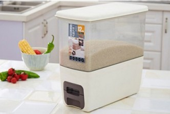 [Rice Storage @ 58% Savings!] B$25 instead of B$59 for a unit RICE DISPENSER 12L. Redemption at SD HQ, Gadong