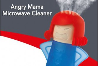Clean your microwave for Raya* [Angry Mama Microwave Cleaner @ 67% Savings!] B$5 instead of B$15 for a unit of Angry Mama Microwave / Oven Steam Cleaner. Redemption at SD HQ, Gadong