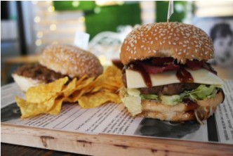Scrumptious*[I'm Here For You All The Time Meal Deal @ 48% Savings] B$12.80 instead of B$24.60 for 1 Juiciest Hamburger + 1 Sloppy Joes + A Side Of Nachos + 2 Soups of The Day (Mushroom Soup or Broccoli Soup) at I'm Here For You Boutique & Cafe