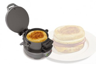 [Breakfast Sandwich Maker @ 75% Savings!] B$39.9 instead of B$159 for a unit of Breakfast Sandwich Maker. Redemption at SD HQ, Gadong