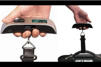 [Digital Scale @ 67% Savings!] B$11 instead of B$33.5 for a unit of SOKANO Stainless Steel Digital Luggage Scale. Redemption at SD HQ, Gadong