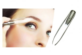 [2x Tweezer with LED Light @ 67% Savings!] B$13.9 instead of B$42 for Two units of LED Light Tweezer – Provides Convenience & Accuracy. Redemption at SD HQ, Gadong