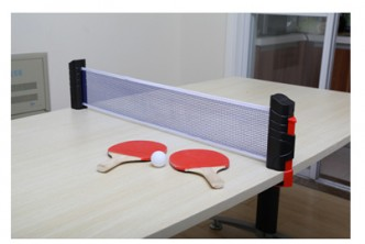 [Table Tennis set  @ 75% Savings!] B$12 instead of B$48 for Table Tennis Set - Includes 2 Bats, 3 Balls & Retractable Net Stretches. Redemption at SD HQ, Gadong.