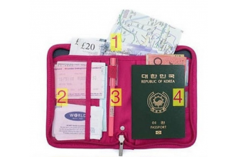 [Multi-compartment Passport Holder @ 45% Savings!] B$9.9 instead of B$18 for a unit of Multi-compartment at SD HQ, Gadong.