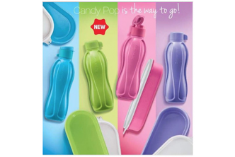 [For TW Members ONLY] Candy Pop Eco Bottle Set / Candy Pop Oval Keeper / Candy Pop Mini Eco Bottle. Collection at sD HQ/D2D Delivery including Seria/Kuala Belait, Tutong & Brunei-Muara! Refer to Fine Print for Terms and Conditions!