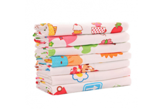 Design subject to availability* [Infant Cartoon Towel @ 54% Savings] B$17 instead of B$37 for a unit of Cartoon Theme Washable Cotton Baby Bath Towel. Redemption at SD HQ, Gadong.