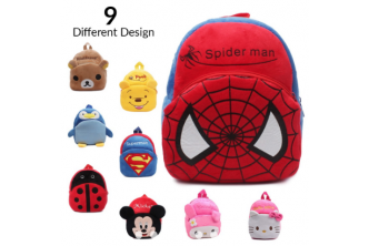[Fluffy Kid Backpack @ 57% Savings] B$12 instead of B$28 for a unit of Cartoon Themed Fluffy Kid Backpack. Redemption at SD HQ, Gadong.