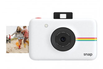 [2IN1 Polaroid Camera/Printer @ 35% Savings!] B$199 instead of B$308 for a unit of Polaroid Snap Instant Digital Camera (White) with ZINK Zero Ink Printing Technology. Redemption at SD HQ Gadong
