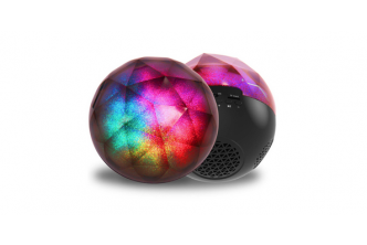 FROM U.S*[Colourful Sphere Bluetooth Speaker @ 68% Savings!] B$32 instead of B$99 for a unit of Colourful Sphere Bluetooth Speaker. Redemption at SD HQ, Gadong.