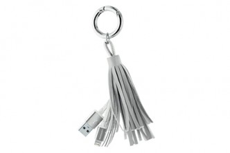 From The U.S. - Never will miss out your charger again! [Keychain Cable Charger @ 42% Savings!] B$15 instead of B$26 for a unit of portable keychain charger. Redemption at SD HQ, Gadong.