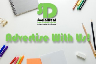 Advertise with us! [Socialdeal's New Year Coverage Promo  @ 75% savings!] B$100 instead of B$400 for One Month Coverage Service includes Facebook, Instagram and Newsletter broadcast and more! Redemption at SD HQ, Gadong.