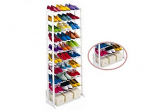 [Shoe Rack @ 66% Savings] B$16.9 instead of B$49 for a unit of Amazing Space Saving 10 Tier Level Shoes Rack. Redemption at SD HQ, Gadong.