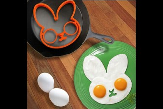 [2x Rabbit Egg Moulder @ 63% Savings!] B$8 instead of B$22 for a unit of Silicone Rabbit Mould Ring for egg. Redemption at SD HQ, Gadong