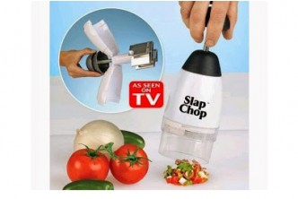 [Slap Chop @ 71% Savings!] B$7 instead of B$24 for a unit of Slap Chop. (easy to use, slices and dices food/vegetables, etc.) Redemption at SD HQ, Gadong