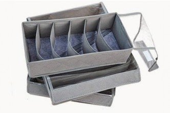 [Bamboo Charcoal Organizer 3 Pieces Set @ 59% Savings!] B$12 instead of B$29 for a unit of Bamboo Charcoal Organizer 3 Pieces Set. Redemption at SD HQ, Gadong