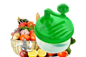 [SOKANO Multifunctional Veggie Cutter/Mixer @ 64% Savings!] B$10 instead of B$28 for a unit of SOKANO Manual Multifunctional Large Capacity Vegetable Cutter and Mixer. Redemption at SD HQ, Gadong.