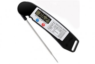 [Digital Cooking Thermometer @ 42% Savings!] B$29 instead of B$50 for a unit of Digital Instant Reading Cooking Thermometer with Stainless Probe. Redemption at SD HQ, Gadong.