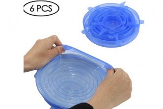 Premium Quality* [6pcs Universal Microwaveable Silicone Lid Sealer @ 37% Savings!] B$21.9 instead of B$35 for 6 units of Universal Silicone Stretchable Lid Sealer. Redemption at SD HQ, Gadong.