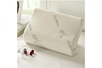 R2* [Bamboo Foam Pillow @ 82% Savings!] B$13.5 instead of B$76 for a unit of 30x50cm Bamboo Fiber Slow Rebound Memory Pillow for Cervical Health Care, Head & Neck Support. Redemption at SD HQ, Gadong.