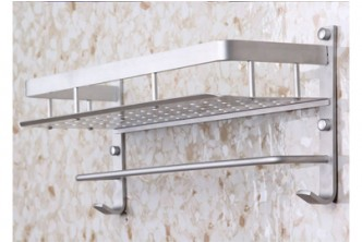 [Single Tier Bathroom Shelf @ 68% Savings!] B$15.9 instead of B$49 for Single Tier Bathroom Shelf. Redemption at SD HQ, Gadong.