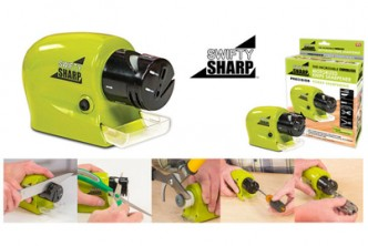 [Swifty Sharp @ 80% Savings!] B$11.9 instead of B$59 for a unit of Swifty Sharp~Motorized Knife Sharpener. Redemption at SD HQ, Gadong