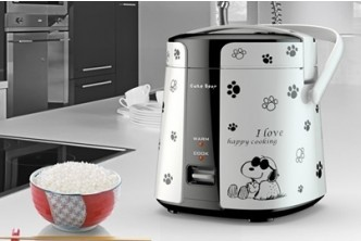 Buy before 15th December** [Sokano Snoopy Mini Rice Cooker @ 58% Savings!] B$37 instead of B$79 for a unit of Sokano Love Design Mini Rice Cooker at SD HQ, Gadong.