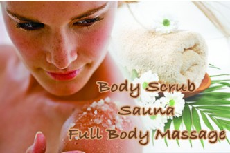 [Body Relaxation  @ 73% Savings!] B$19.90 instead of B$75 for a session (1.5 Hrs) of Full Body Scrub + Herbal Steam + Full Body Massage at My Beauty & Body Workshop, Kiulap!