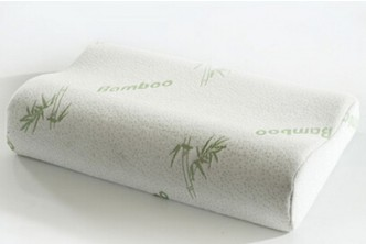 [Bamboo Foam Pillow @ 82% Savings!] B$13.5 instead of B$76 for a unit of 30x50cm Bamboo Fiber Slow Rebound Memory Pillow for Cervical Health Care, Head & Neck Support. Redemption at SD HQ, Gadong.
