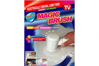[5IN1 Electric Magic Brush @ 58% Savings!] B$13.9 instead of B$32.9 for a unit of Electric Magic Brush Tub 5 IN1 Cleaning Brush. Redemption at SD HQ, Gadong