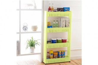 [4 Tier Kitchen Storage Rack @ 72% Savings!] B$21.9 instead of B$79.5 for a unit of 4 Tier Kitchen Storage Rack,  Redemption at SD HQ, Gadong.