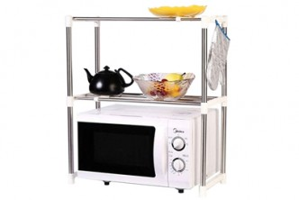 [Oven Rack @ 56% Savings!] B$17 instead of B$39 for a unit of Multifunctional Oven Organizer Rack, Redemption at SD HQ, Gadong.