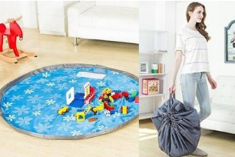 [Collapsible Kids Toys Storage Container @ 74% Savings!] B$10 instead of B$39 for a unit of Collapsible Kids Toys Storage Container Pouch. Redemption at SD HQ, Gadong.