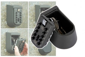 [Secured Key Storage @ 55% Savings!] B$39.9 instead of B$89 for a unit of Key Storage Security Lock Wall Mount with 10 Digit Combination Password. Redemption at SD HQ, Gadong.